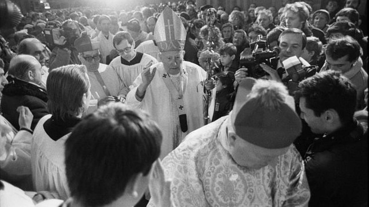 Děkovná mše za svatořečení sv. Anežky