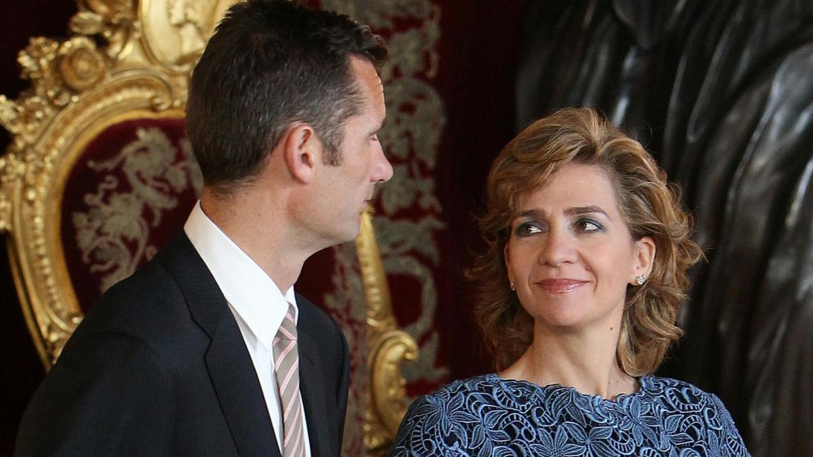 Iñaki Urdangarín a princezna Cristina