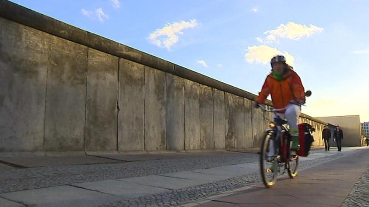 Cyklostezka kolem Berlínské zdi