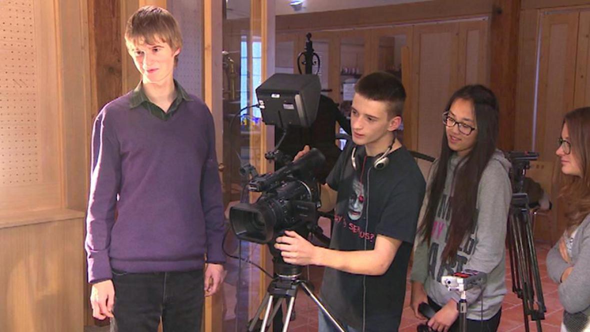 Studenti mediálního kroužku