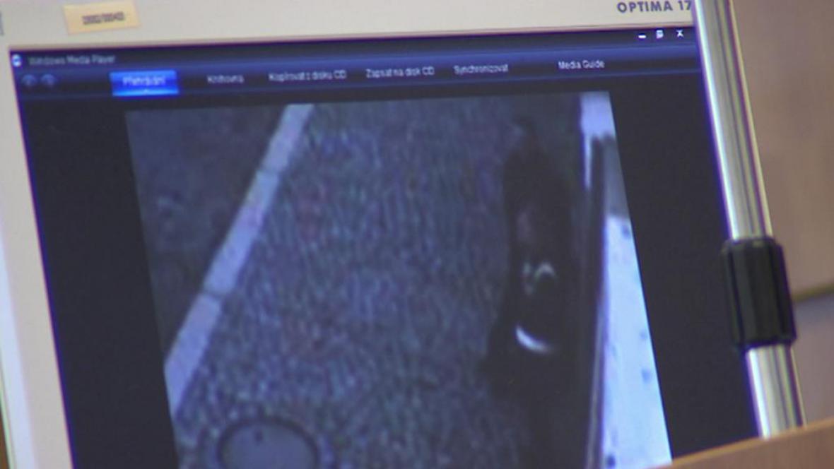 Záznam pouliční kamery