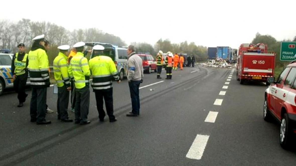 Tragická nehoda na D5
