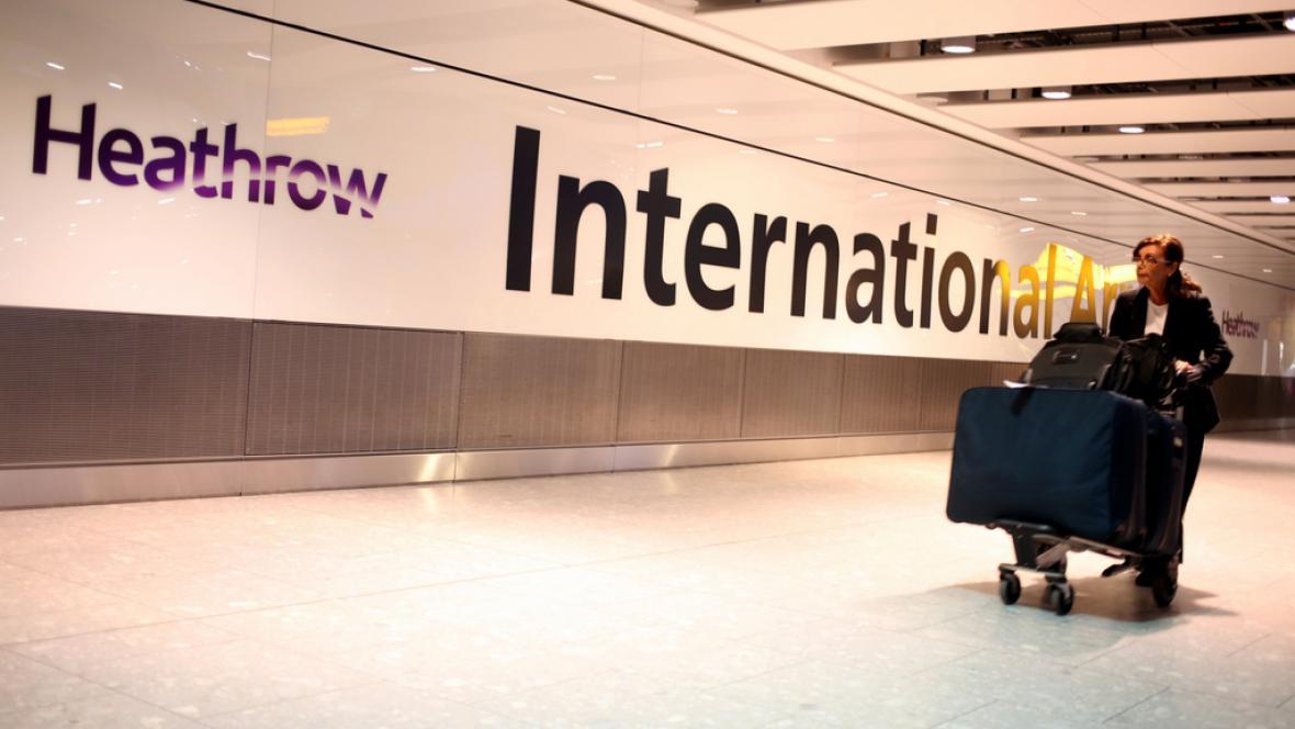 Londýnské letiště Heathrow