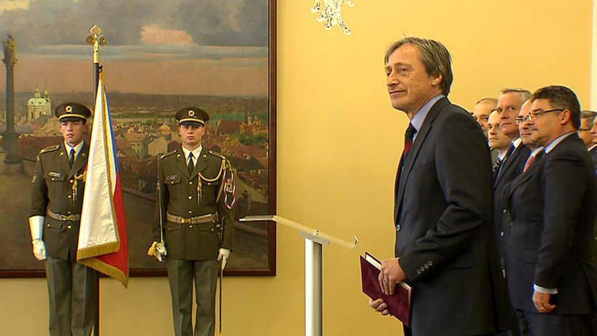 Martin Stropnický na slavnostním ceremoniálu