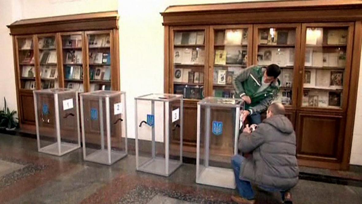 Ukrajina se chystá na volby