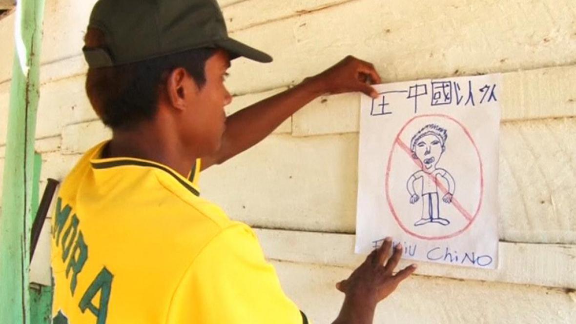 V obyvatelích Nikaragui nevyvolává čínská přítomnost nadšení