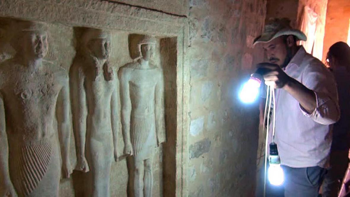 Objevy v Egyptě