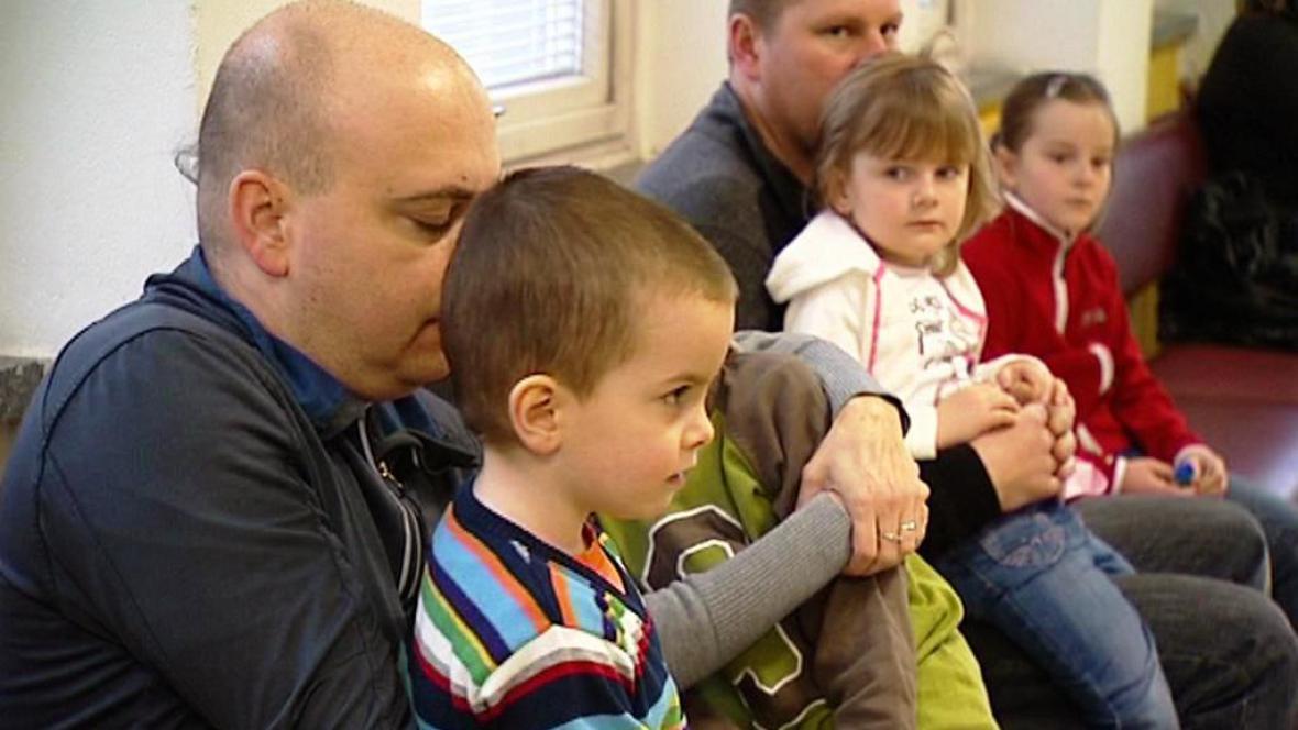 V čekárně u pediatra