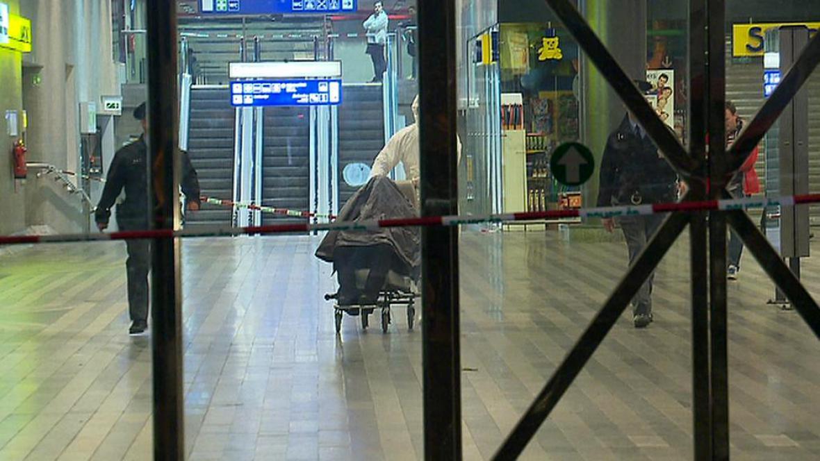 Akce na hlavním nádraží