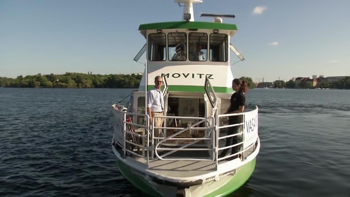 Ekologické plavidlo Movitz