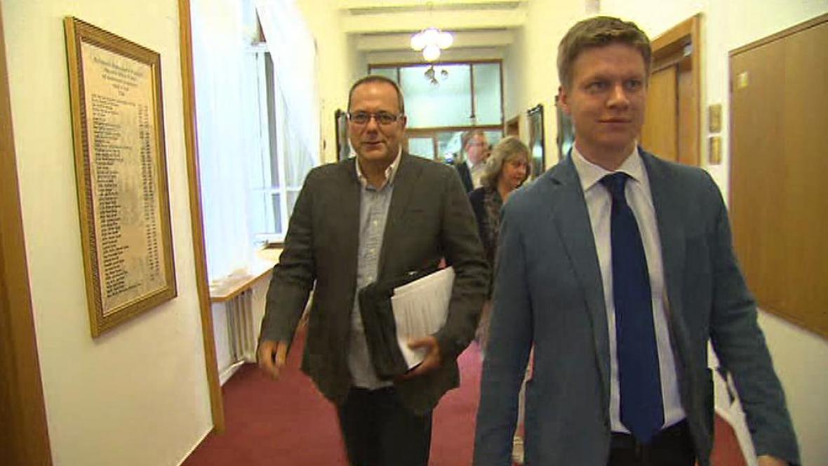Jiří Vávra a Tomáš Hudeček