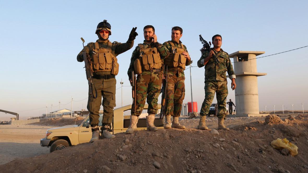 Kurdské milice sledují americké nálety