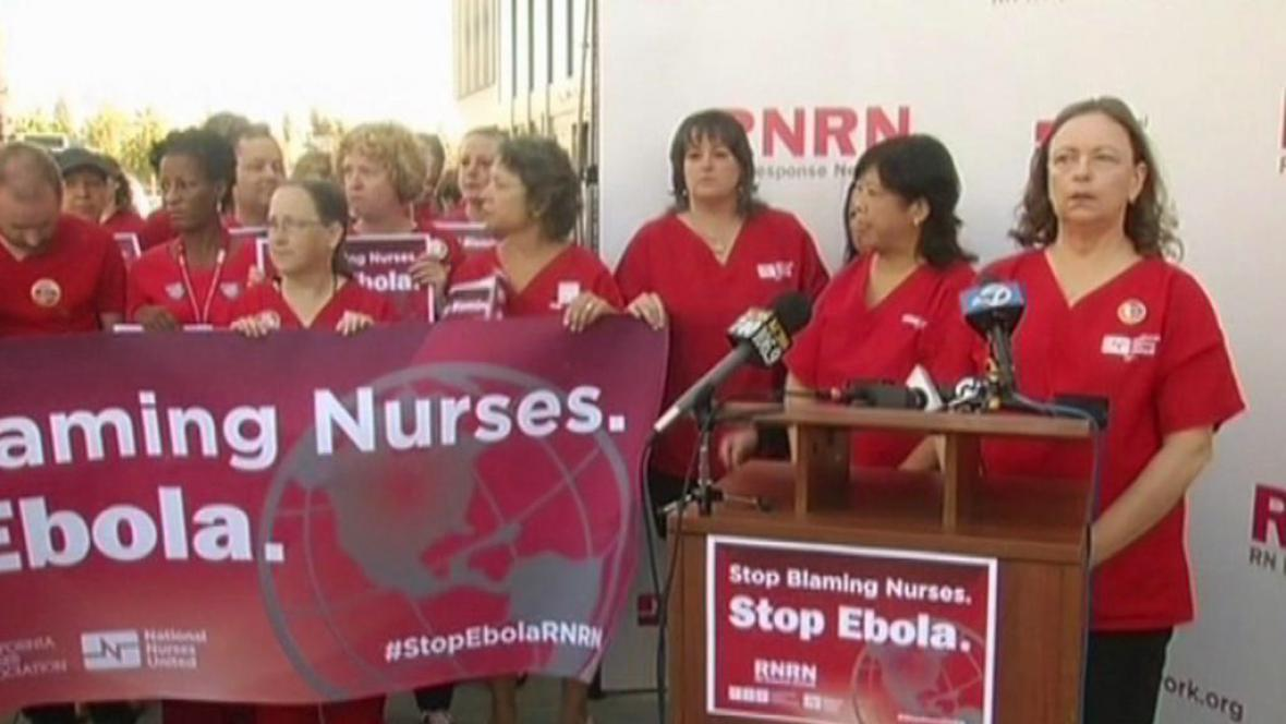 Přestaňte nás obviňovat, hlásí zdravotní sestry v USA