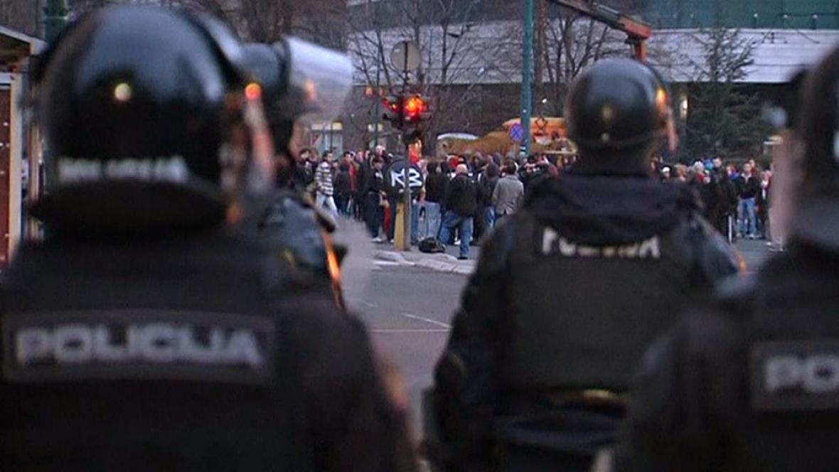 Protesty v Bosně