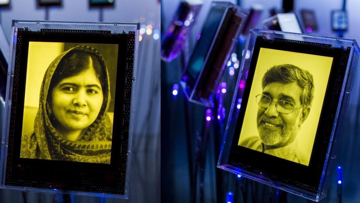 Laureáti Nobelovy ceny míru za rok 2014