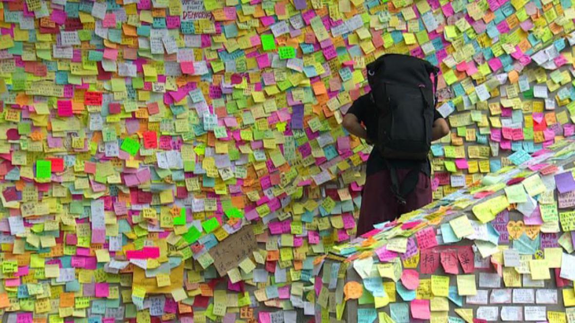 Demokratické protesty v Hongkongu v umění
