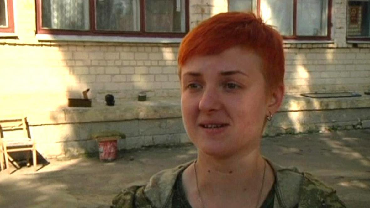 Na Ukrajině bojují i ženy