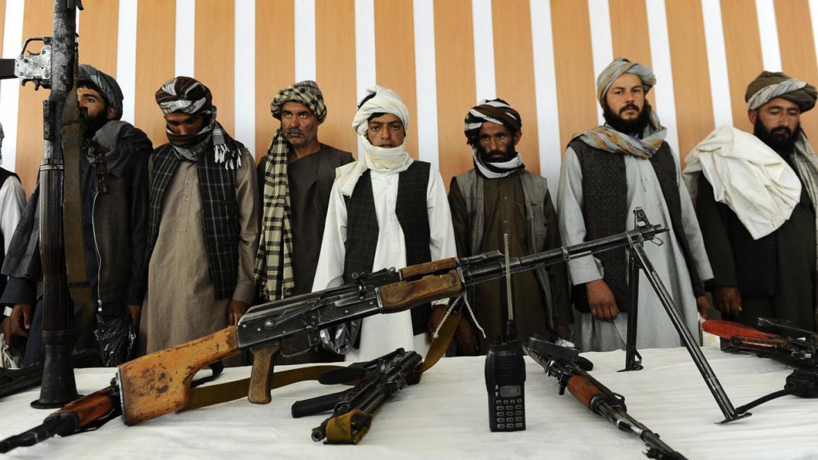 Bojovníci Talibanu