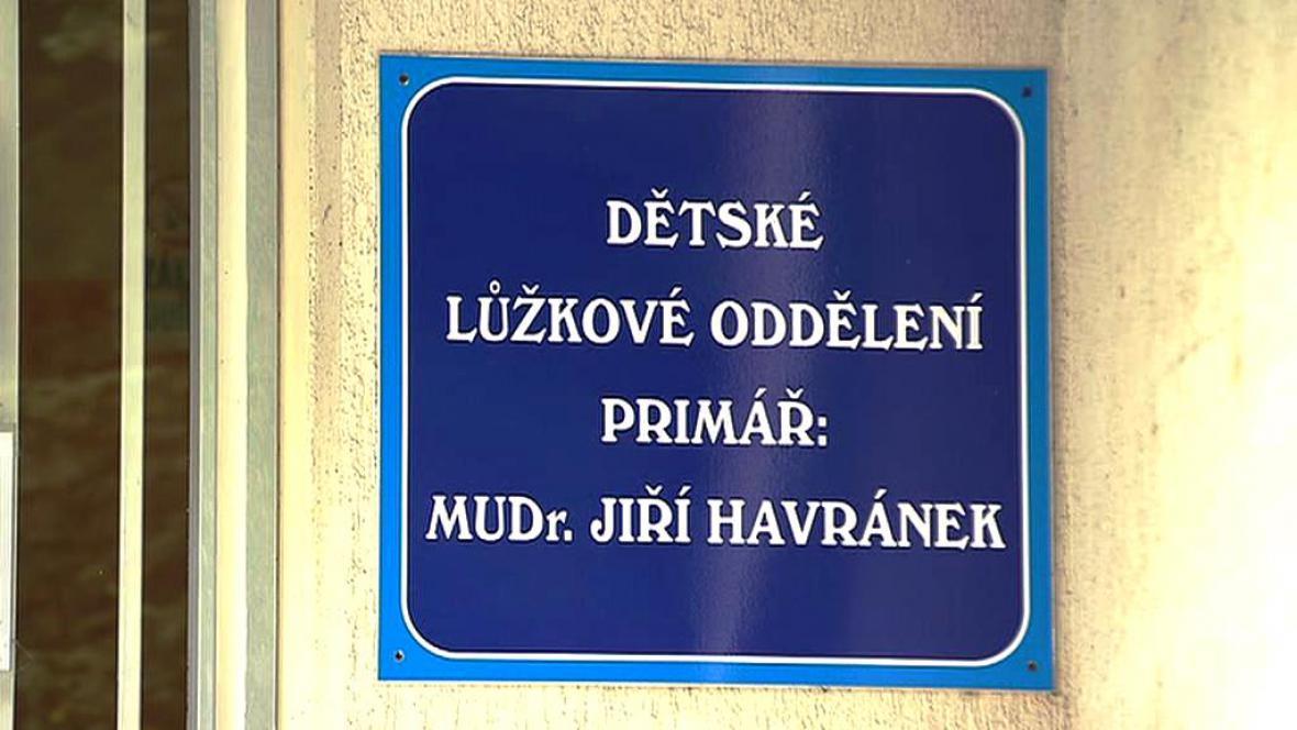 Jiří Havránek pracoval jako primář na pediatrii
