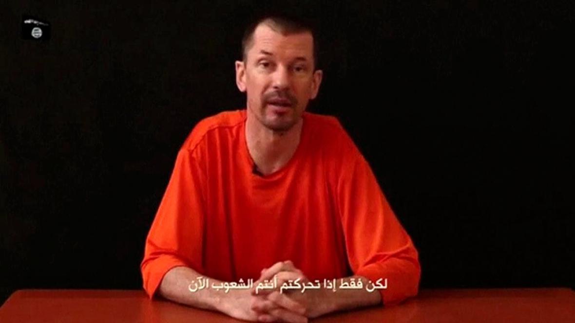 John Cantlie na zveřejněné nahrávce