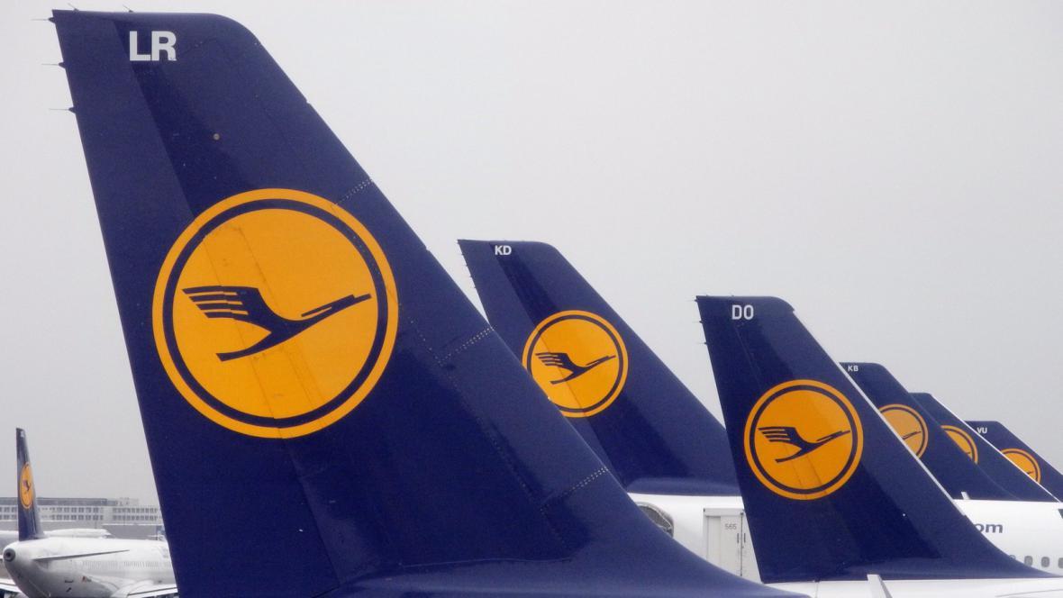 Letadla Lufthansy