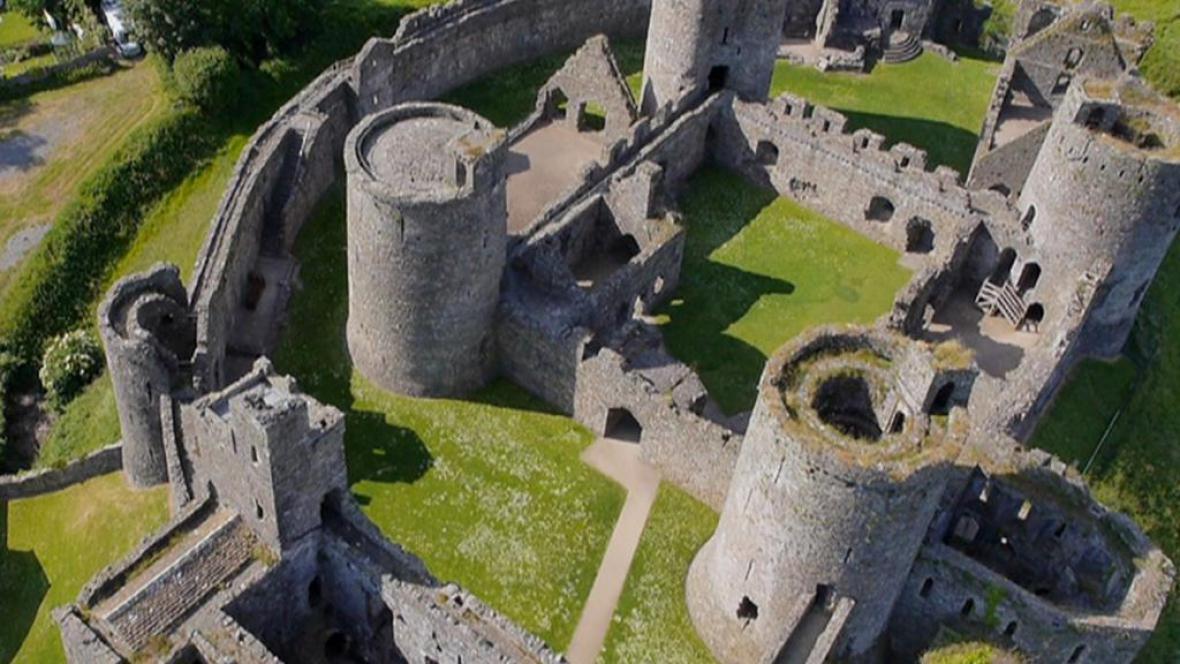 Projekt velšské vlády Castles from the Clouds