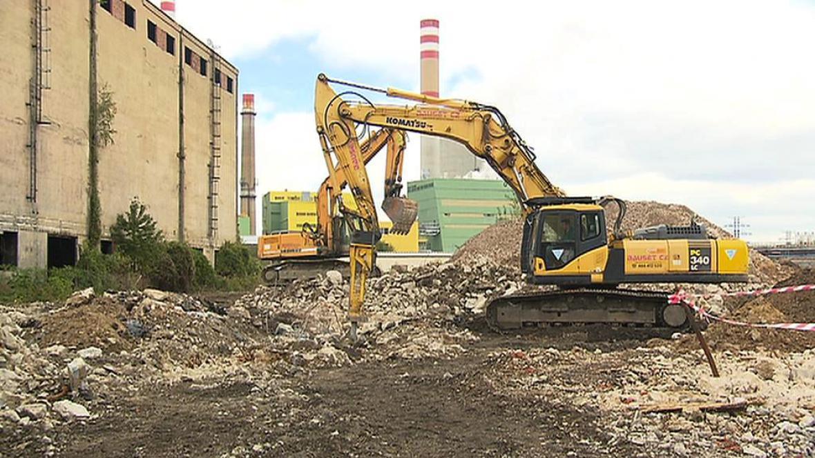 Sanace bývalého areálu Poldi Kladno