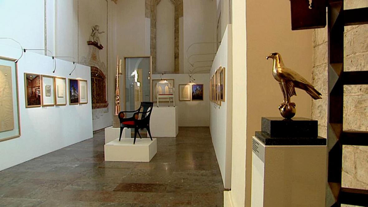 Z výstavy Skici Josipa Plečnika