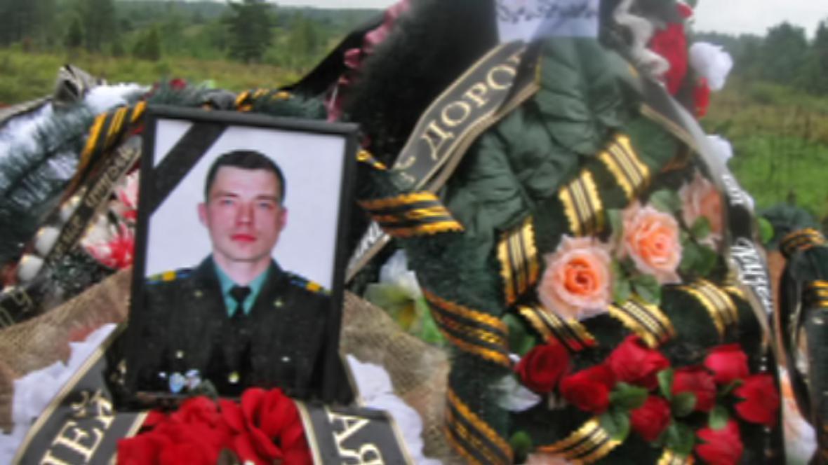 Padlý ruský voják