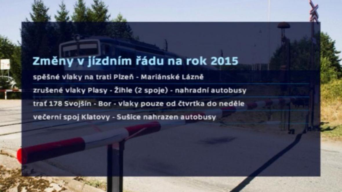 Změny v dopravě na Plzeňsku