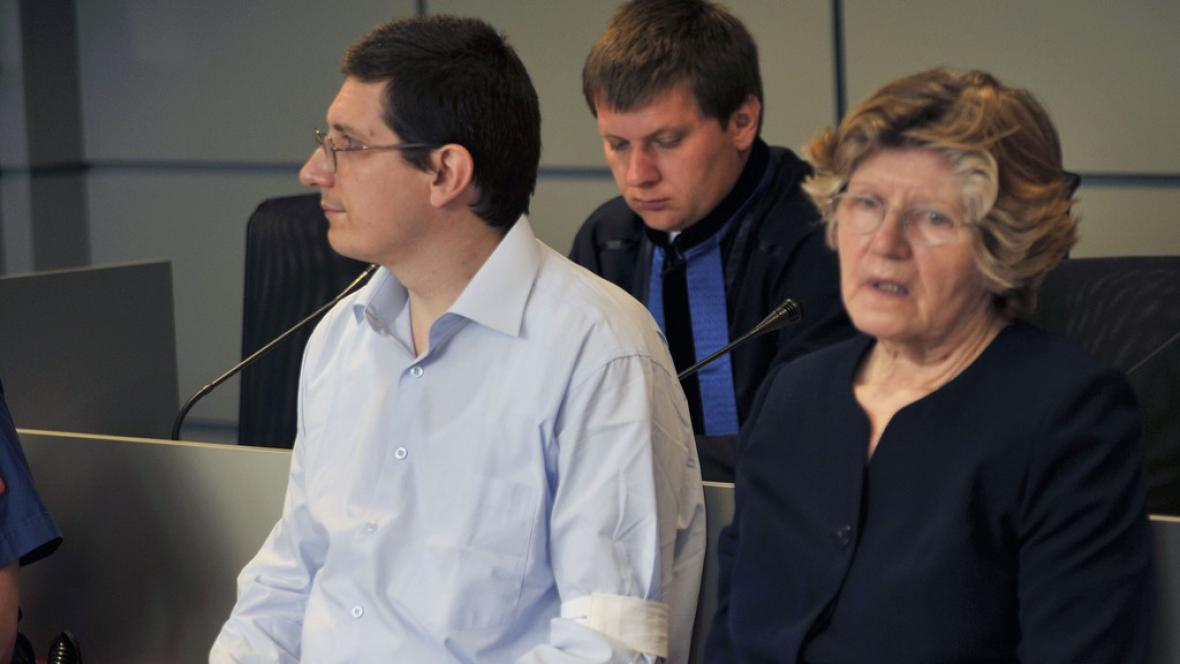 Pavel Nárožný a jeho matka Hana Nárožná