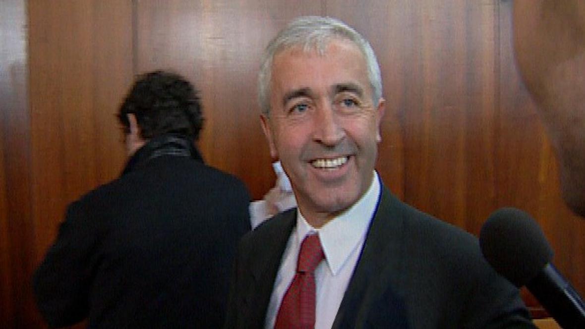 Boris Vostrý na archivním snímku