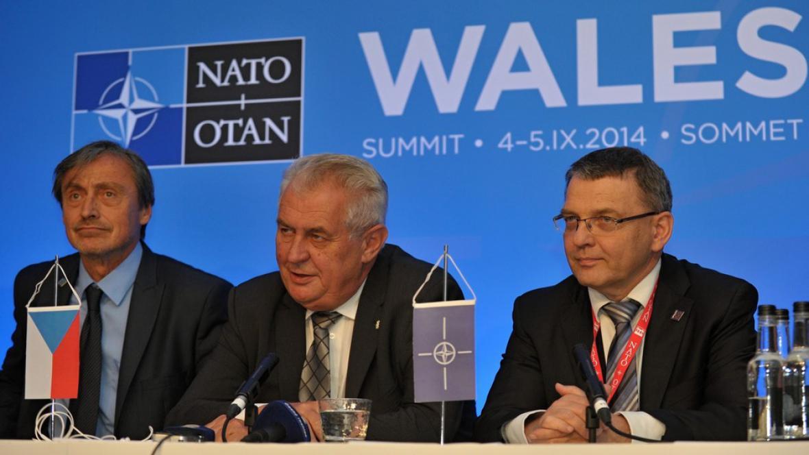 Česká delegace ve Walesu