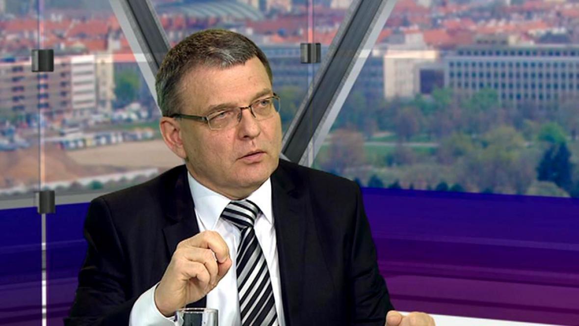 Ministr zahraničí Lubomír Zaorálek (ČSSD)
