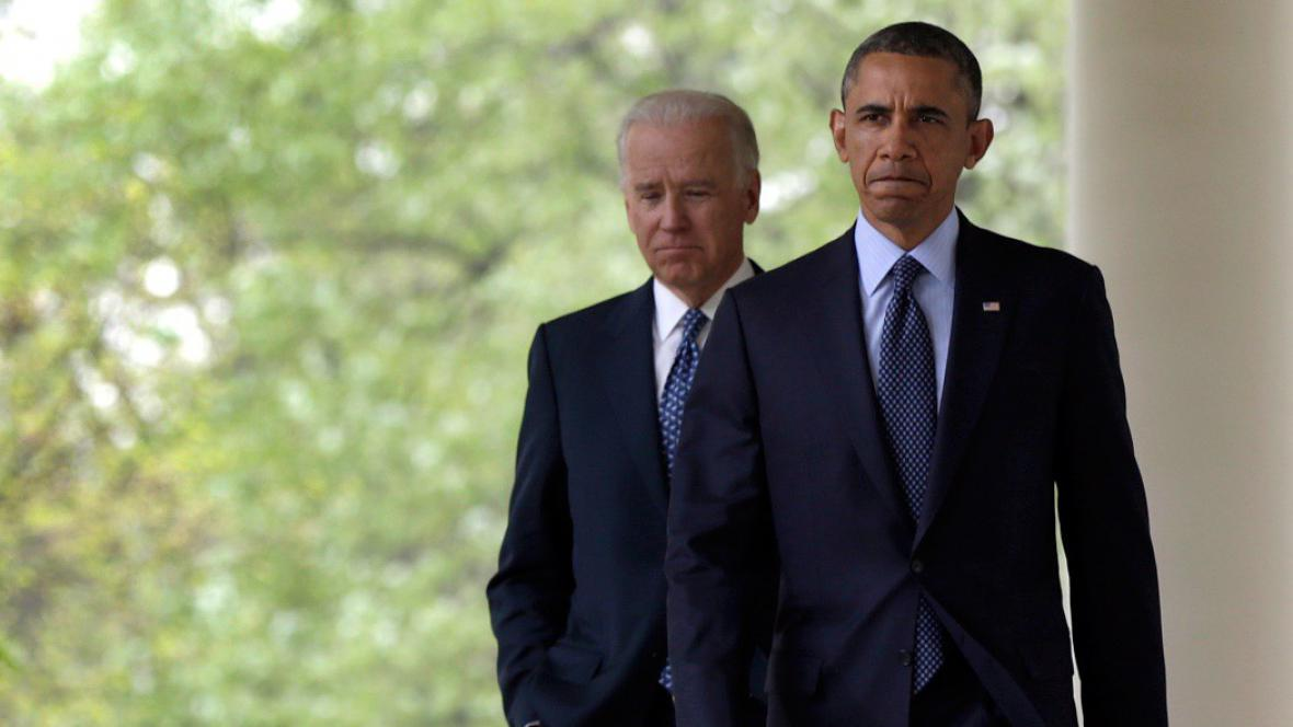 Barack Obama a viceprezident Joe Biden