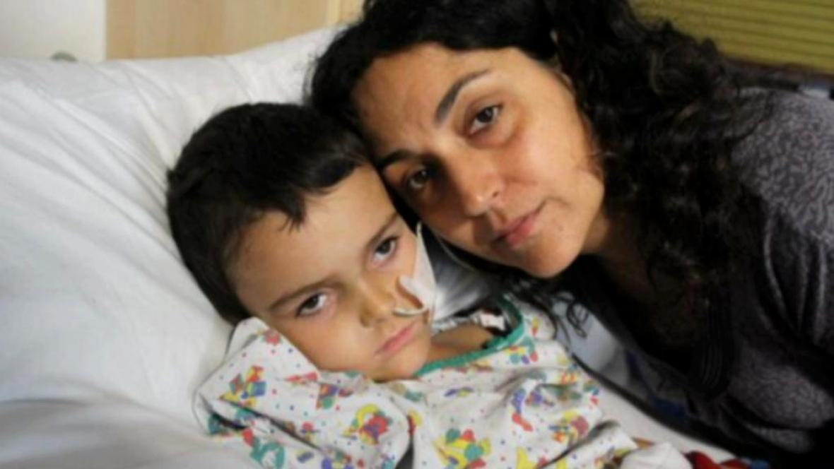 Ashya se svou matkou