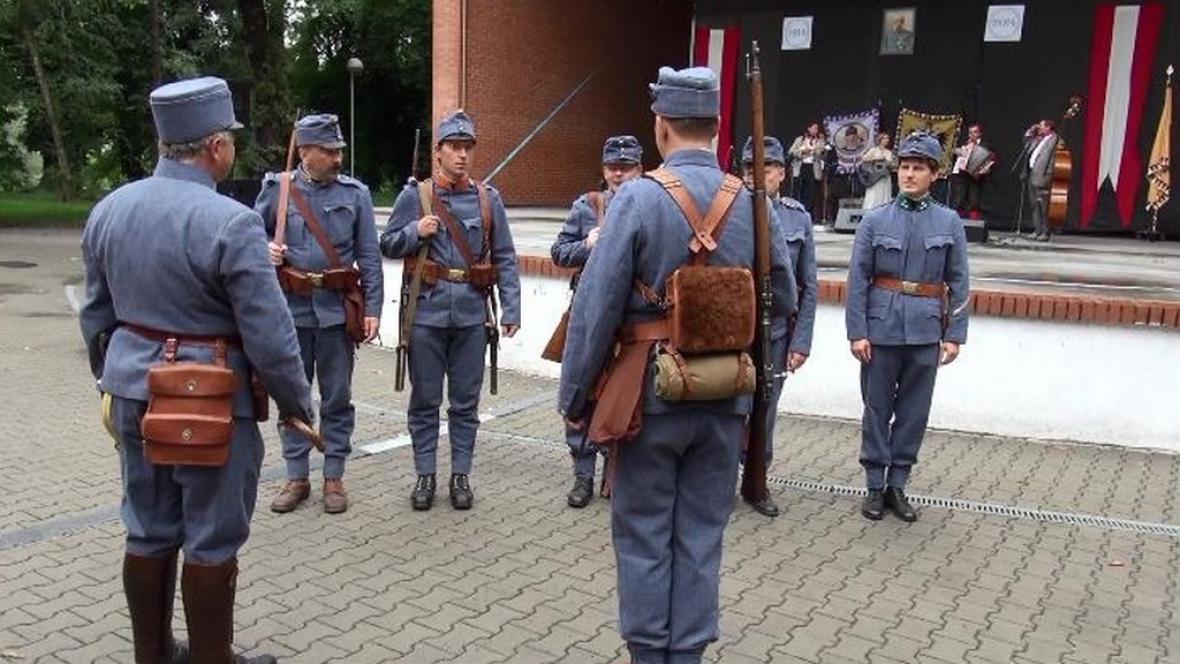 Kolín si připomněl vznik 1. světové války