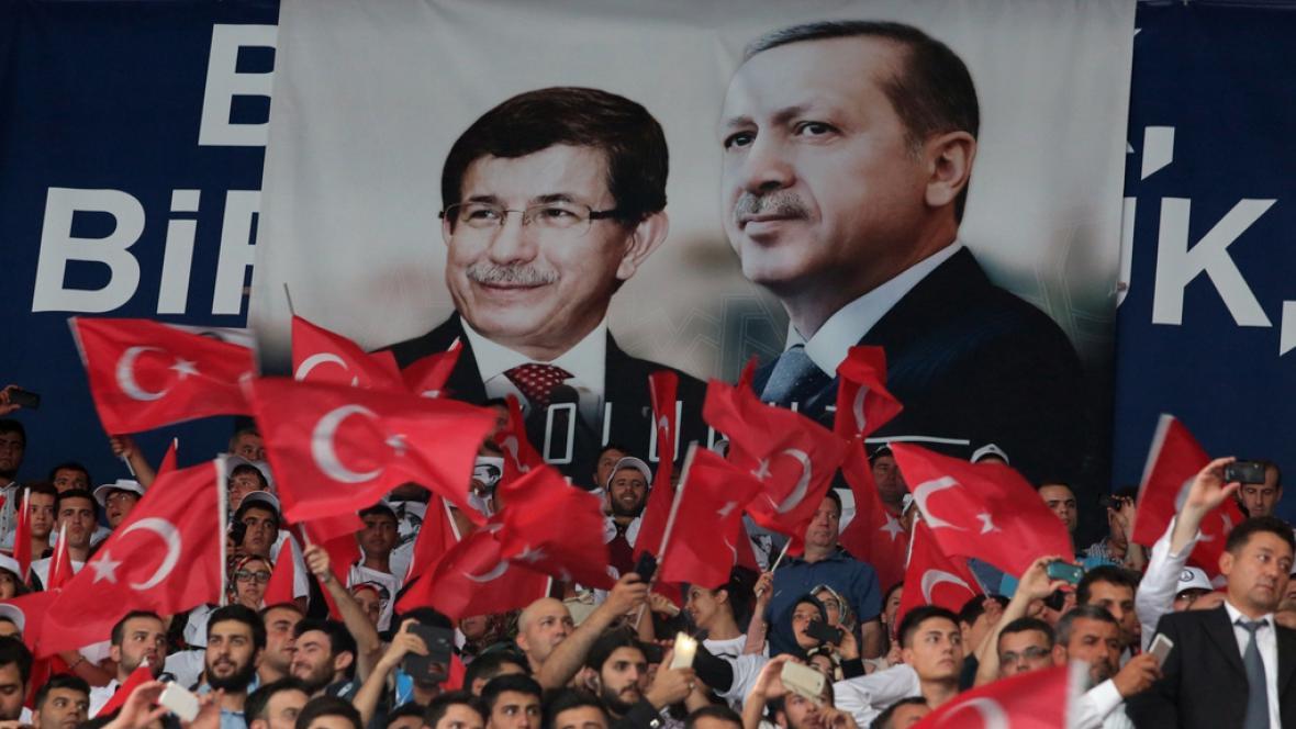 Kongres nejsilnější turecké strany