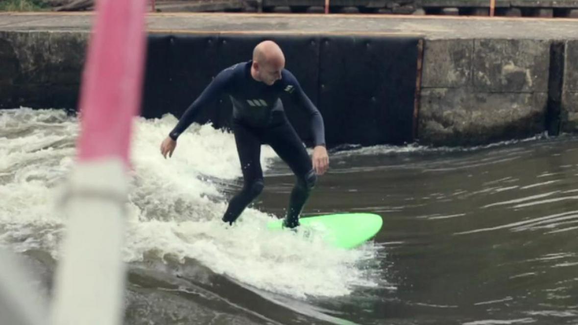 Surfování v Brandýse