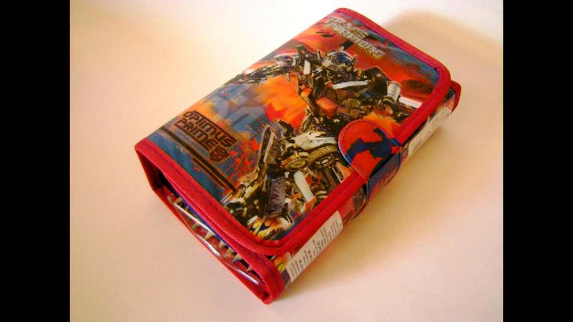 Penál Transformers s vysokým obsahem ftalátů