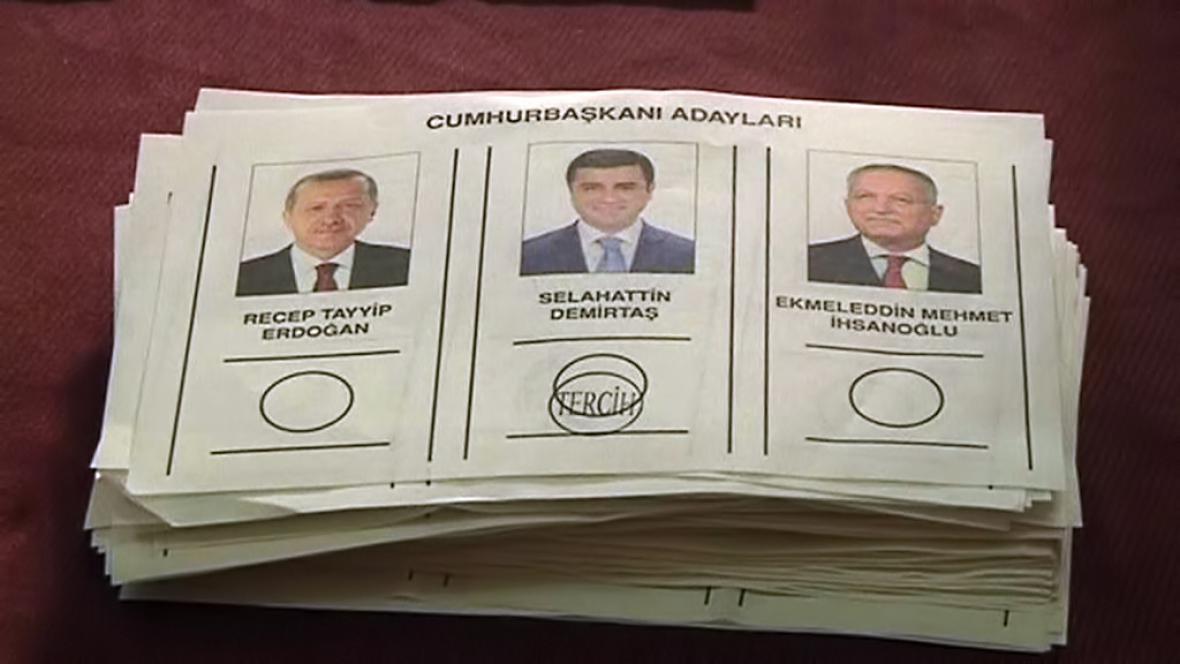 Turecké volební lístky