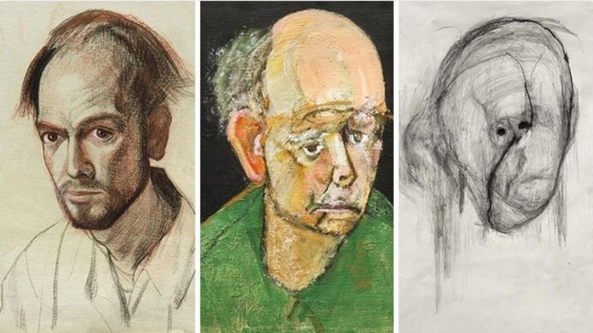 William Utermohlen a jeho autoportréty