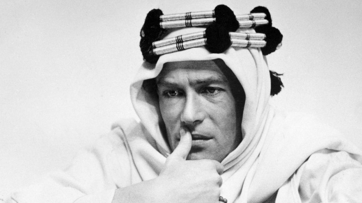 Peter O'Toole ve filmu Lawrence z Arábie