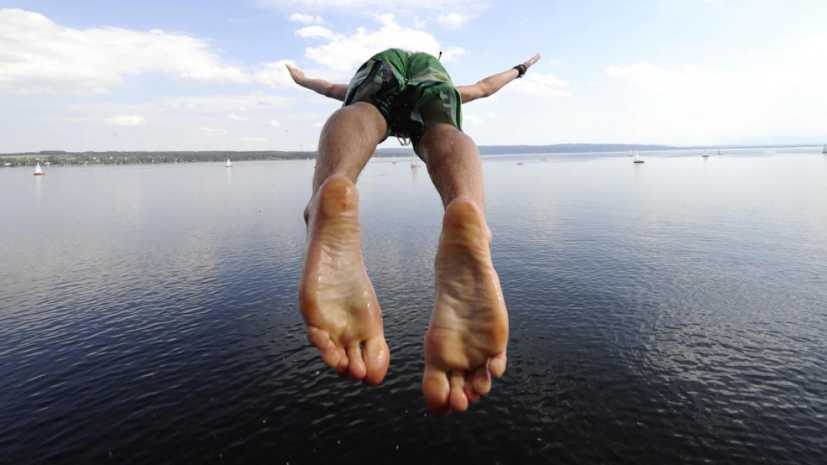 Skákání do vody