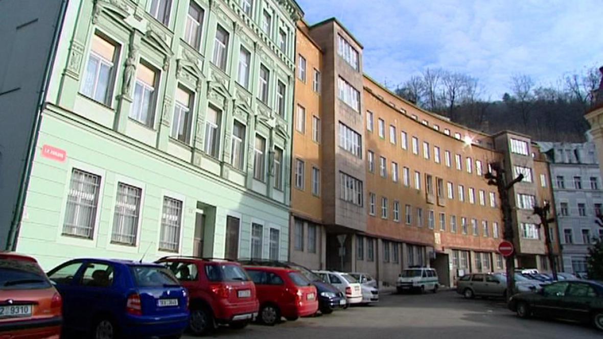 Dosavadní sídlo policejního ředitelství Karlovarského kraje