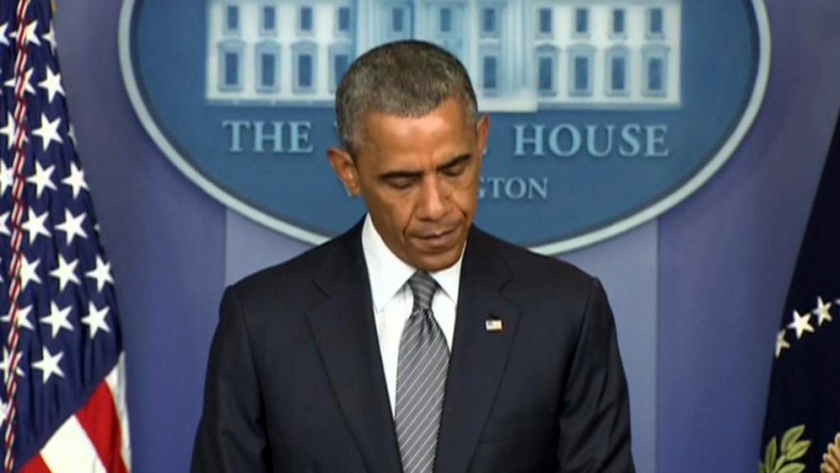 Barack Obama k tragédii malajsijského letadla