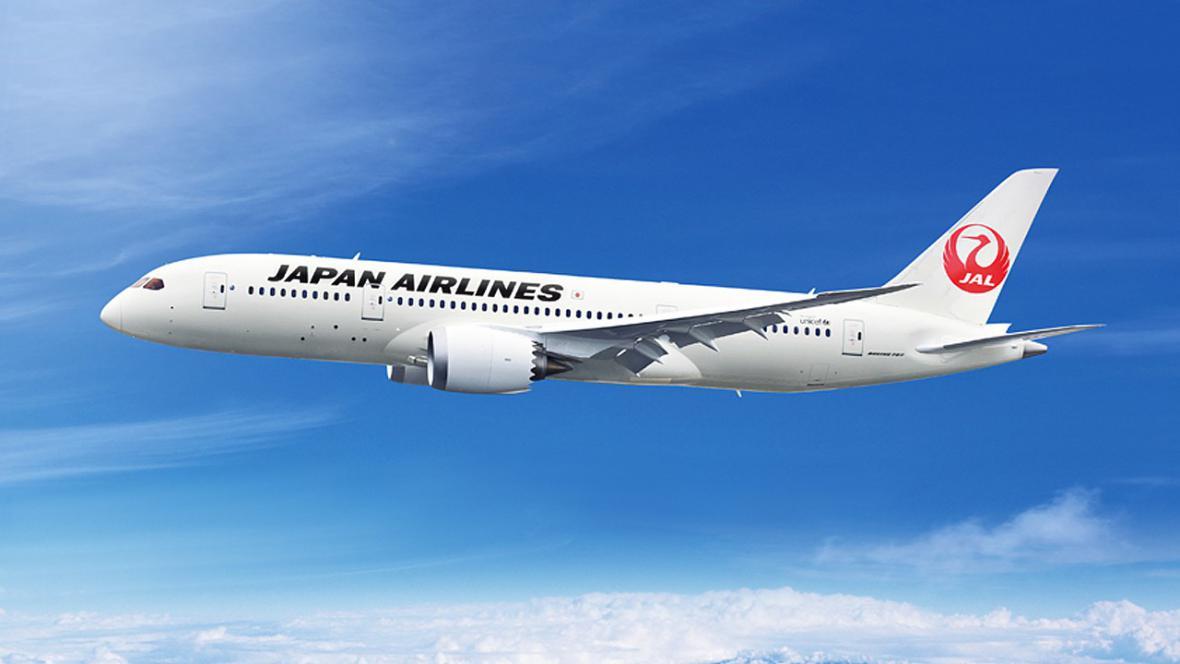 Dreamliner společnosti Japan Airlines