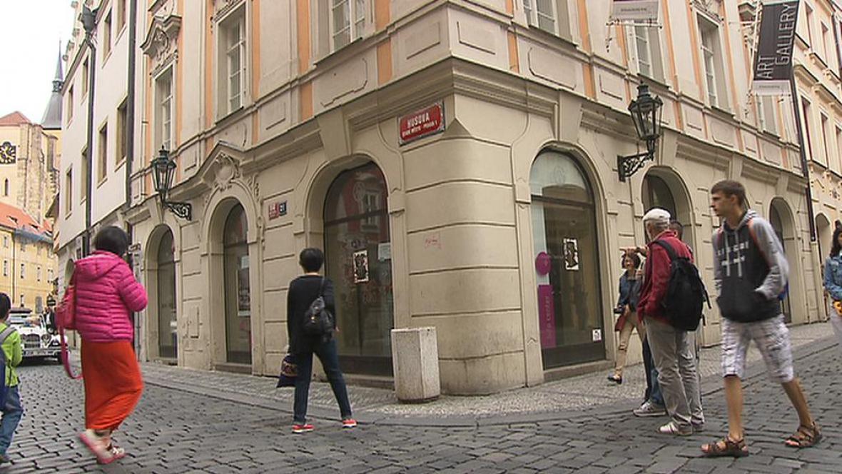 Bývalé infocentrum Středočeského kraje
