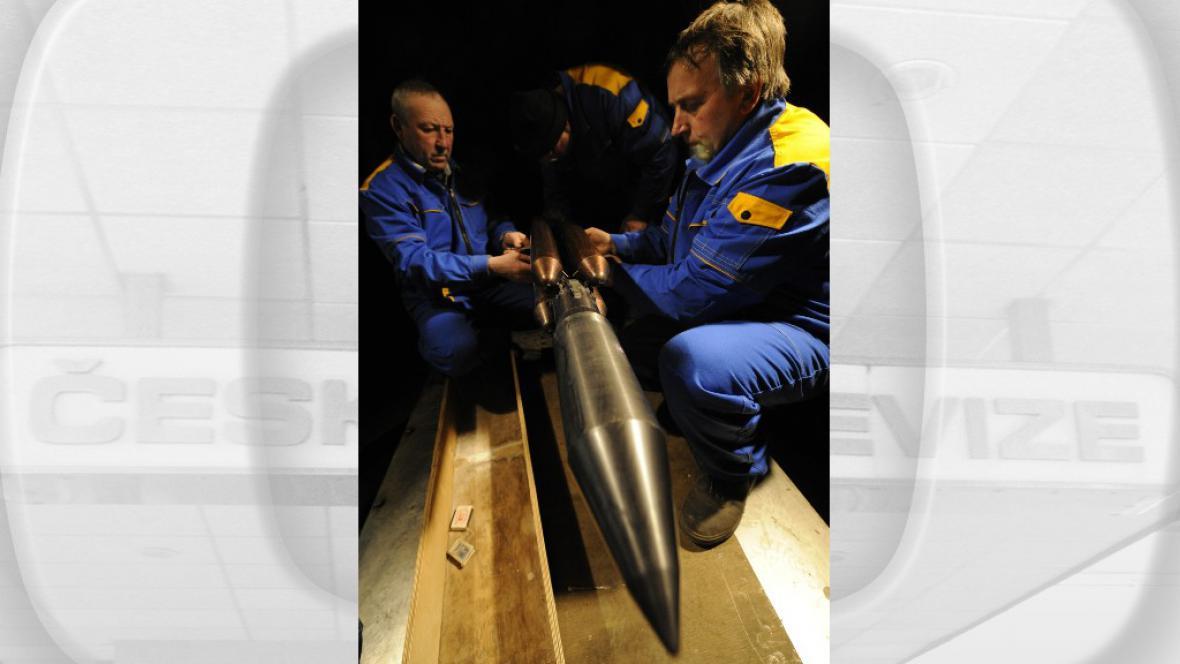 Model rakety Angara