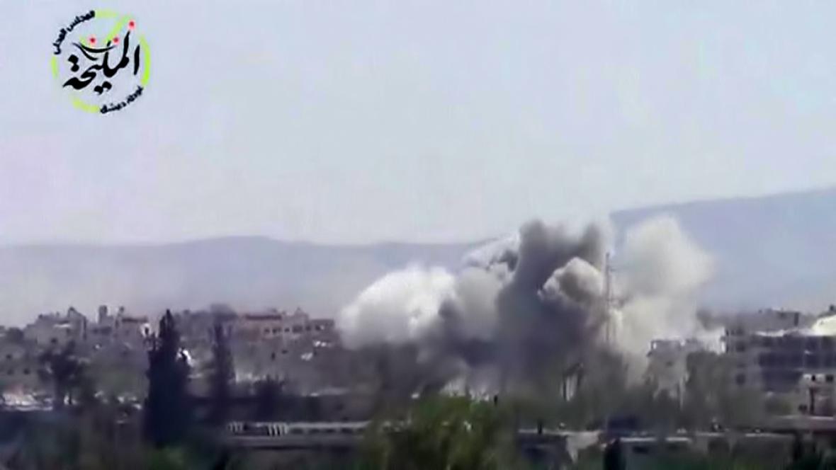 Zásah proti islamistům z ISIL